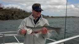 bryan with frist striper of 2013